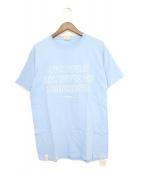 DESCENDANT(ディセンダント)の古着「Tシャツ」|スカイブルー