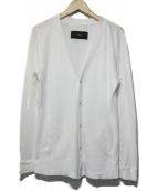 AKM(エイケイエム)の古着「カーディガン」|ホワイト