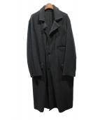 YohjiYamamoto pour homme(ヨウジヤマモトプールオム)の古着「パイルチェスターコート」|ブラック