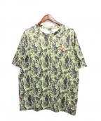 NITRAID(ナイトレイド)の古着「モザイクカモフラージュTシャツ」 カーキ