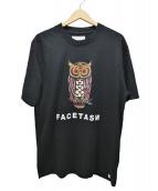 FACETASM(ファセッタズム)の古着「OWL BASIC TEE」|ブラック