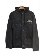 SUPREME(シュプリーム)の古着「Hooded Chore Coat」|ブラック