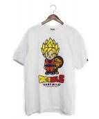 A BATHING APE x DRAGONBALL(ア ベイシング エイプ×ドラゴンボール)の古着「Tシャツ」|ホワイト