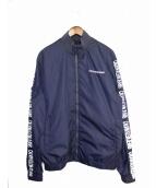 Calvin Klein Jeans(カルバンクラインジーンズ)の古着「ブルゾン」|ネイビー