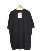 VETEMENTS(ヴェトモン)の古着「バックパッチTシャツ」 ブラック
