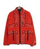 Supreme(シュプリーム)の古着「19AW バンダナフリースジャケット」|レッド