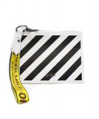 OFF WHITE(オフホワイト)の古着「19SS クラッチバッグ」|ホワイト×ブラック