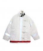 MAGIC STICK(マジックスティック)の古着「ファイアーマンジャケット」 ホワイト
