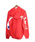 Supreme × CHAMPION(シュプリーム × チャンピオン)の古着「18SS Hooded Sweatshirt 」|レッド