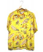 Sun Surf(サンサーフ)の古着「KAHILI HAWAII」 イエロー
