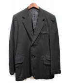 YohjiYamamoto pour homme(ヨウジヤマモトプールオム)の古着「ラインストーンテーラードジャケット」|ブラック