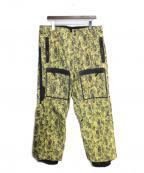 NITRAID(ナイトレイド)の古着「リアルウィードスノボパンツ」 黄緑