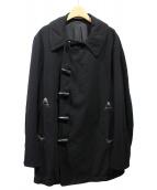 Ys(ワイズ)の古着「製品染めトグルボタンコート」 ブラック