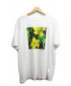 the POOL aoyama(ザプールアオヤマ)の古着「フラワープリントTシャツ」 ホワイト