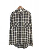 RHUDE(ルード)の古着「チェックシャツ」|ブラック