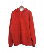 Supreme(シュプリーム)の古着「Polartec Hooded Sweatshirt」|レッド