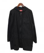 SUPREME(シュプリーム)の古着「MILITALY COAT / ミリタリーコート」 ブラック