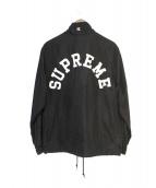 Supreme × Champion(シュプリーム×チャンピオン)の古着「Half Zip Pullover」|ブラック