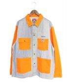 Supreme × BEN DAVIS(シュプリーム × ベンデイビス)の古着「19AW Chore Coat」|オレンジ