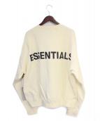 FOG ESSENTIALS(フィアオブゴット エッセンシャル)の古着「スウェット」|アイボリー