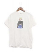 FLAGSTUFF(フラッグスタッフ)の古着「Tシャツ」|ホワイト