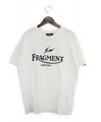 FRAGMENT DESIGN(フラグメントデザイン)の古着「Tシャツ」|ホワイト