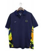 F.C.R.B.(エフシーアールビー)の古着「ポロシャツ」|ネイビー
