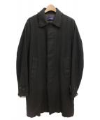 UNDERCOVER(アンダーカバ−)の古着「18AW/カツラギタチキリステンカラーコート」|ブラック