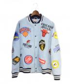 SUPREME × NIKE(シュプリーム × ナイキ)の古着「18SS NBA TEAMS WARM-UP JACKET 」|インディゴ