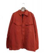 STONE ISLAND(ストーンアイランド)の古着「シャツジャケット」|レッド