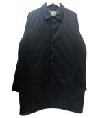 CarHartt(カーハート)の古着「中綿ロングコーチジャケット」 ブラック