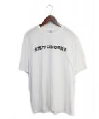 VETEMENTS(ヴェトモン)の古着「Tシャツ」|ホワイト