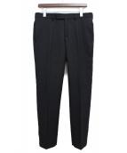 Dior Homme(ディオール オム)の古着「ウールスラックス」|ブラック