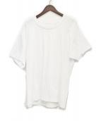GROUND Y(グラウンドワイ)の古着「天竺レイヤードTシャツ」|ホワイト