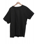 GROUND Y(グラウンドワイ)の古着「天竺レイヤードTシャツ」|ブラック