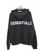 FOG ESSENTIALS(フェアオブゴット エッセンシャル)の古着「パーカー」|ブラック