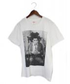 Supreme(シュプリーム)の古着「13AW Basquiat Portrait Tee」|ホワイト