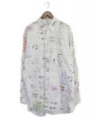 VETEMENTS(ヴェトモン)の古着「シャツ」 ホワイト