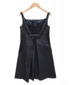 FOXEY NEWYORK(フォクシーニューヨーク)の古着「Milly Dress」|ブラック