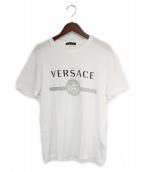 VERSACE(ヴェルサーチ)の古着「Tシャツ」|ホワイト