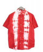 Supreme(シュプリーム)の古着「タイダイシャツ」|レッド