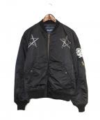 whiz limited(ウィズリミテッド)の古着「MA-1ジャケット」 ブラック