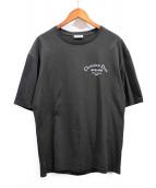 Dior Homme(ディオールオム)の古着「ATELIERロゴプリントTシャツ」|ブラック