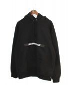 Supreme(シュプリーム)の古着「Zip Pouch Hooded Sweatshirt」|ブラック