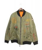 HACULLA(ハキュラ)の古着「MA-1ジャケット」|カーキ