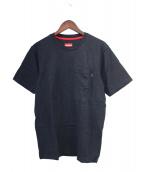 Supreme(シュプリーム)の古着「ポケットTシャツ」|ネイビー