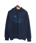 Supreme(シュプリーム)の古着「Schminx pullover」|ネイビー