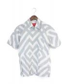 Supreme(シュプリーム)の古着「半袖シャツ」|グレー×ホワイト