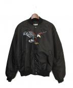 sss world corp(トリプルエス ワールドコープ)の古着「MA-1ジャケット」|ブラック