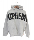 Supreme(シュプリーム)の古着「14AW Banner Pullover」|グレー